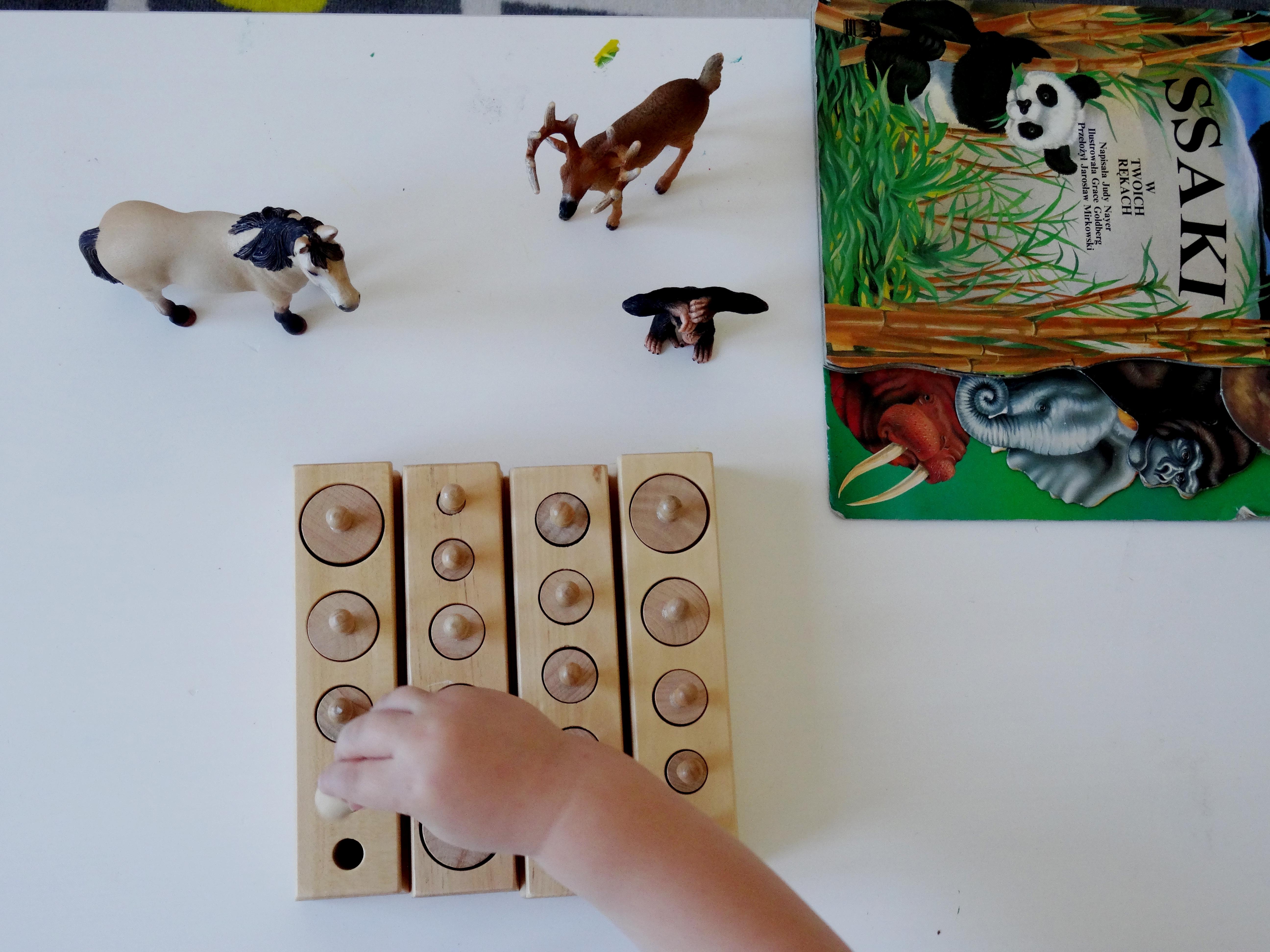 cylindry Montessori